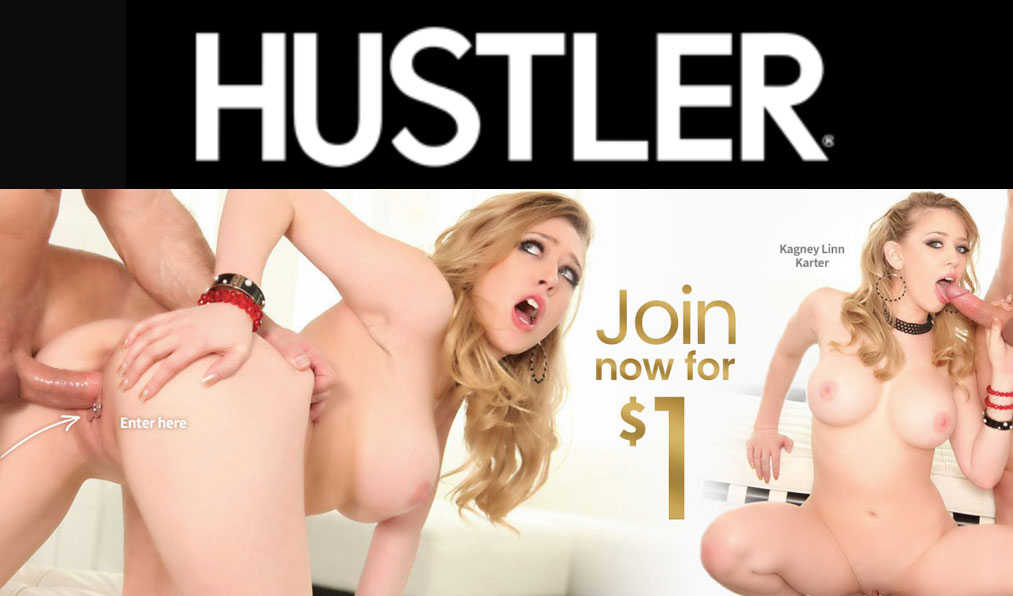 Good porn site deal to access 20+ Hustler sites with a $1 porn pass